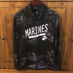 Under Armour Marines Tie-dye Athleisure Pullover
